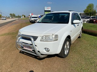 2008 Ford Territory SY Ghia White 4 Speed Sports Automatic Wagon.