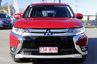 2016 Mitsubishi Outlander ZK MY16 LS 4WD Plum 6 Speed Constant Variable Wagon