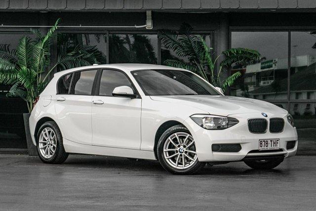 Used BMW 116i F20 116i Bowen Hills, 2013 BMW 116i F20 116i White 8 Speed Sports Automatic Hatchback