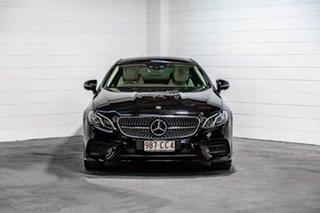 2018 Mercedes-Benz E-Class C238 808+058MY E220 d 9G-Tronic PLUS Black 9 Speed Sports Automatic Coupe