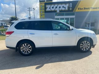 2017 Nissan Pathfinder R52 Series II MY17 ST X-tronic 2WD White 1 Speed Constant Variable Wagon.