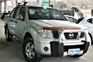 2007 Nissan Navara D40 ST-X Silver 5 Speed Automatic Utility.