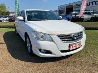 2007 Toyota Aurion GSV40R Prodigy White 6 Speed Sports Automatic Sedan.