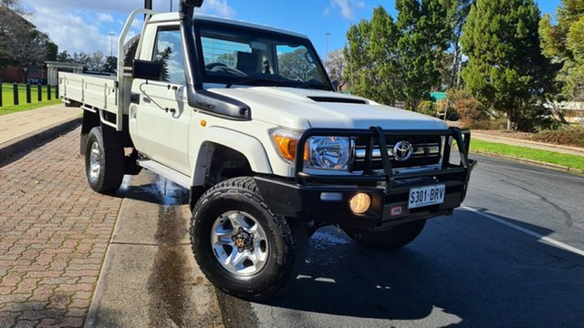 Used Toyota Landcruiser VDJ79R MY12 Update GXL (4x4) Prospect, 2015 Toyota Landcruiser VDJ79R MY12 Update GXL (4x4) White 5 Speed Manual Cab Chassis