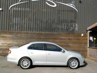 2008 Volkswagen Jetta 1KM MY08 Turbo DSG Silver 6 Speed Sports Automatic Dual Clutch Sedan.