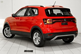 2021 Volkswagen T-Cross C1 MY21 85TSI DSG FWD Style Red 7 Speed Sports Automatic Dual Clutch Wagon