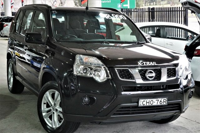 Used Nissan X-Trail T31 Series IV ST 2WD Phillip, 2012 Nissan X-Trail T31 Series IV ST 2WD Black 1 Speed Constant Variable Wagon