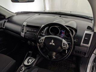 2009 Mitsubishi Outlander ZG MY09 LS Silver 6 Speed Constant Variable Wagon