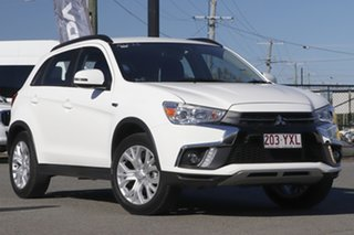 2019 Mitsubishi ASX XC MY19 ES 2WD ADAS White Solid 1 Speed Constant Variable Wagon.