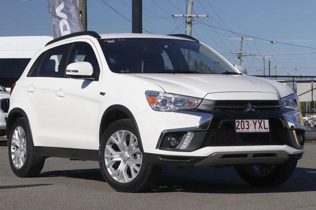 Used Mitsubishi ASX XC MY19 ES 2WD ADAS Rocklea, 2019 Mitsubishi ASX XC MY19 ES 2WD ADAS White Solid 1 Speed Constant Variable Wagon