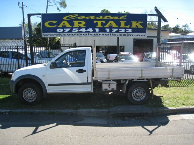 Used Holden Rodeo RA LX Nambour, 2005 Holden Rodeo RA LX White 4 Speed Automatic Cab Chassis