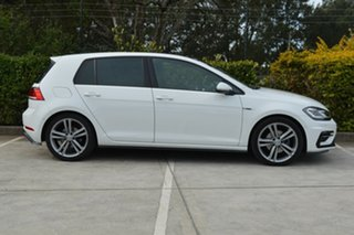 2018 Volkswagen Golf 7.5 MY18 110TSI DSG Highline White 7 Speed Sports Automatic Dual Clutch.