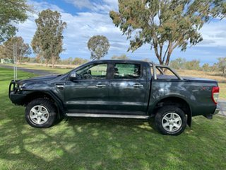 2013 Ford Ranger PX XLT Double Cab Metroploitan Grey 6 Speed Sports Automatic Utility