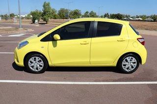 2017 Toyota Yaris NCP131R SX Vivid Yellow 5 Speed Manual Hatchback