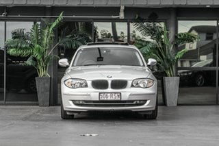 2010 BMW 1 Series E87 MY11 118d Steptronic Silver 6 Speed Sports Automatic Hatchback.