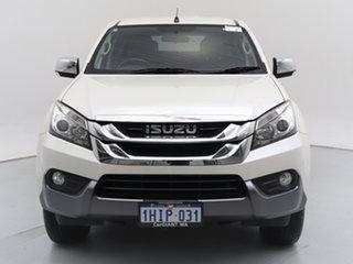 2015 Isuzu MU-X UC MY15 LS-U (4x4) White 5 Speed Automatic Wagon.