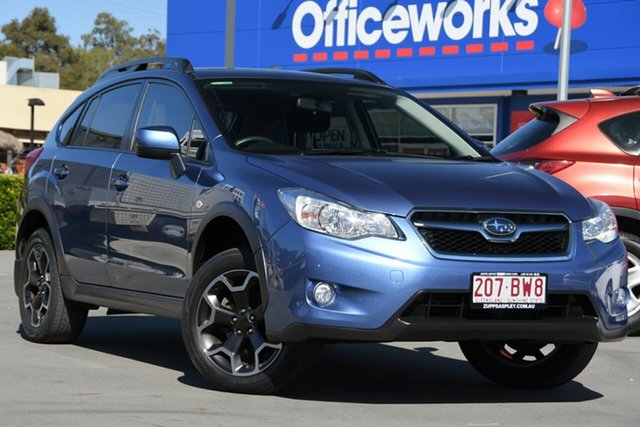 Used Subaru XV G4X MY13 2.0i-L Lineartronic AWD Aspley, 2013 Subaru XV G4X MY13 2.0i-L Lineartronic AWD Blue 6 Speed Constant Variable Wagon