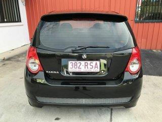 2011 Holden Barina TK MY11 Black 4 Speed Automatic Hatchback