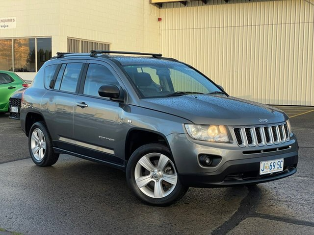 Used Jeep Compass MK MY12 Sport Moonah, 2012 Jeep Compass MK MY12 Sport Grey 5 Speed Manual Wagon