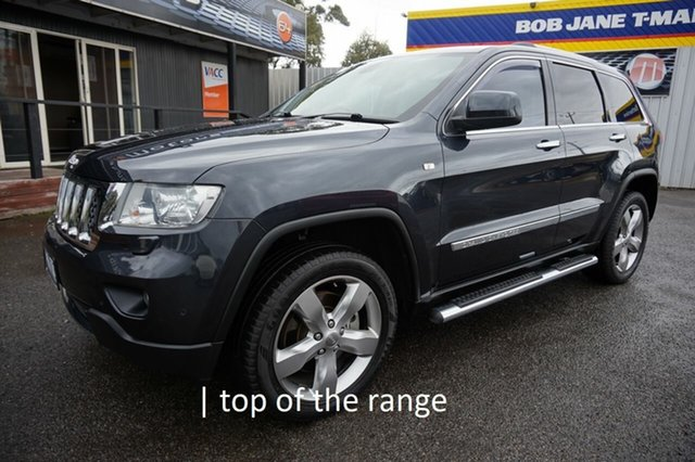 Used Jeep Grand Cherokee WK MY2013 Overland Dandenong, 2012 Jeep Grand Cherokee WK MY2013 Overland Maximum Steel 6 Speed Sports Automatic Wagon