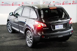 2010 Nissan Dualis J10 MY10 TI (4x4) Black 6 Speed Manual Wagon.