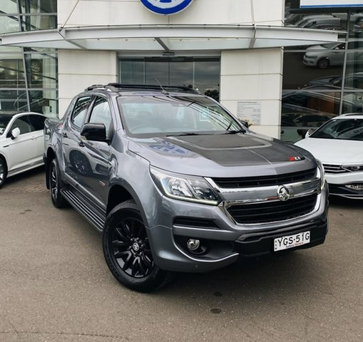 Used Holden Colorado RG MY18 Z71 Pickup Crew Cab Sutherland, 2017 Holden Colorado RG MY18 Z71 Pickup Crew Cab Grey 6 Speed Sports Automatic Utility