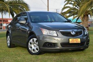2012 Holden Cruze JH Series II MY12 CD Grey 6 Speed Sports Automatic Sedan.