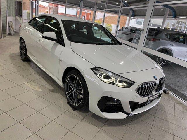 Used BMW 2 Series Taree, 2020 BMW 2 Series 218i - M Sport Alpine White Sports Automatic Dual Clutch Sedan