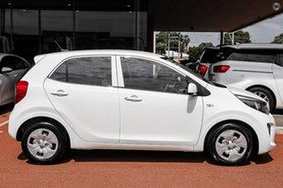 2021 Kia Picanto JA MY21 S White 4 Speed Automatic Hatchback
