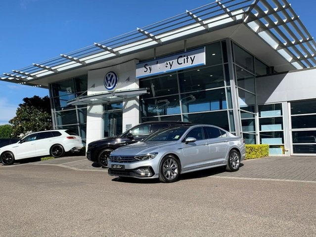 New Volkswagen Passat 3C (B8) MY21 162TSI DSG Elegance Botany, 2021 Volkswagen Passat 3C (B8) MY21 162TSI DSG Elegance Silver 6 Speed Sports Automatic Dual Clutch