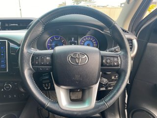 2015 Toyota Hilux GUN126R SR5 (4x4) Silver Sky 6 Speed Automatic Dual Cab Utility
