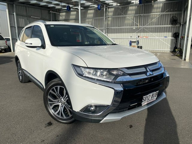 Used Mitsubishi Outlander ZL MY18.5 LS 2WD Hillcrest, 2017 Mitsubishi Outlander ZL MY18.5 LS 2WD White 6 Speed Constant Variable Wagon