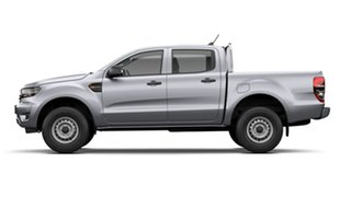 2021 Ford Ranger PX MkIII 2021.75MY XL Aluminium Silver 6 Speed Sports Automatic Double Cab Pick Up.