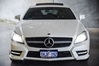 2013 Mercedes-Benz CLS-Class X218 CLS250 CDI BlueEFFICIENCY 7G-Tronic + Shooting Brake White 7 Speed