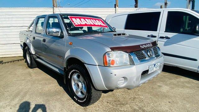 Used Nissan Navara D22 MY2009 ST-R Maidstone, 2010 Nissan Navara D22 MY2009 ST-R Silver 5 Speed Manual Utility