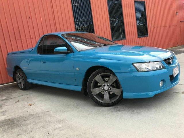 Used Holden Ute VZ MY06 Thunder S Molendinar, 2006 Holden Ute VZ MY06 Thunder S Blue 4 Speed Automatic Utility
