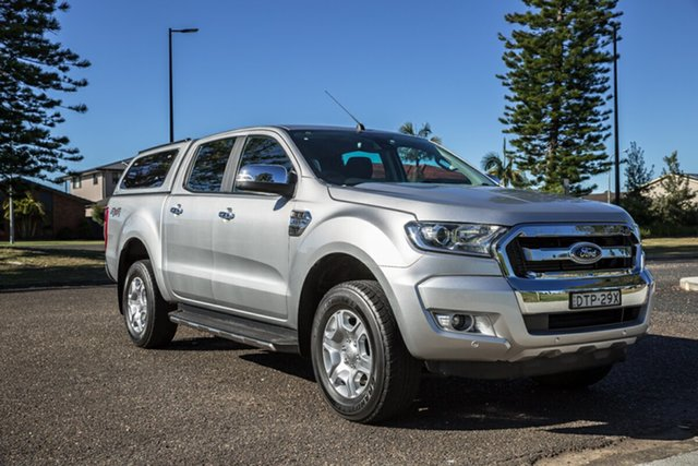 Used Ford Ranger PX MkII XLT Double Cab Port Macquarie, 2017 Ford Ranger PX MkII XLT Double Cab Silver 6 Speed Sports Automatic Utility
