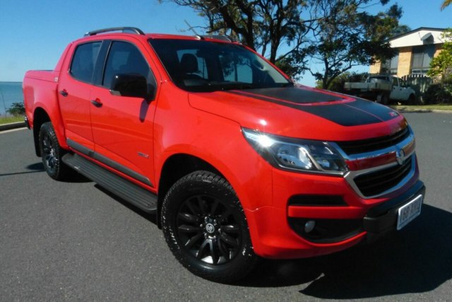 Used Holden Colorado RG MY17 Z71 Pickup Crew Cab Gladstone, 2017 Holden Colorado RG MY17 Z71 Pickup Crew Cab Red 6 Speed Sports Automatic Utility