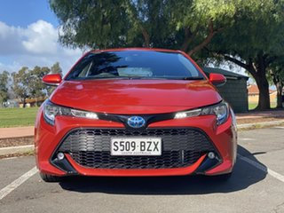 2019 Toyota Corolla ZWE211R SX E-CVT Hybrid Red 10 Speed Constant Variable Hatchback Hybrid.