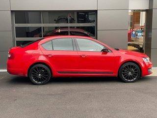 2017 Skoda Octavia NE MY18 Sport Sedan DSG 110TSI Red 7 Speed Sports Automatic Dual Clutch Liftback.