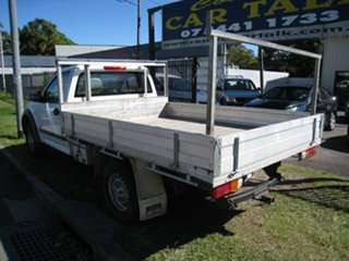 2005 Holden Rodeo RA LX White 4 Speed Automatic Cab Chassis