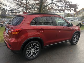 2018 Mitsubishi ASX XC MY18 LS 2WD ADAS Red 1 Speed Constant Variable Wagon.