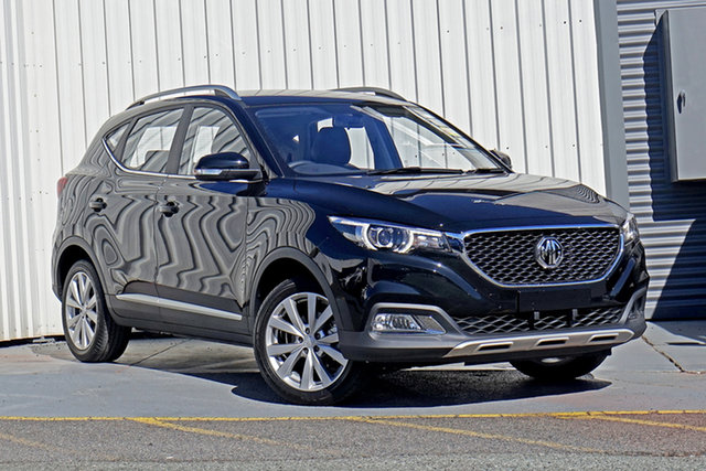 New MG ZS AZS1 MY21 Excite 2WD Springwood, 2021 MG ZS AZS1 MY21 Excite 2WD Black 4 Speed Automatic Wagon