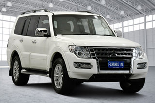 2020 Mitsubishi Pajero NX MY21 GLS White 5 Speed Sports Automatic Wagon.