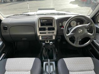 2010 Nissan Navara D22 ST-R (4x4) White 5 Speed Manual Dual Cab Pick-u