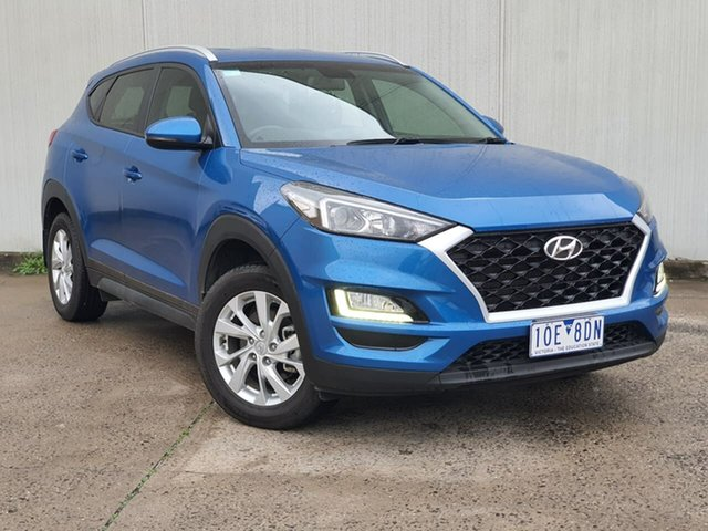 Used Hyundai Tucson TL MY18 Active X 2WD Oakleigh, 2018 Hyundai Tucson TL MY18 Active X 2WD Blue 6 Speed Sports Automatic Wagon