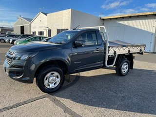 2018 Holden Colorado RG MY18 LS 4x2 Grey 6 Speed Manual Cab Chassis