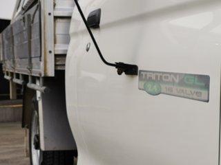 2005 Mitsubishi Triton MK MY05 GLX Club Cab 4x2 White 5 Speed Manual Utility