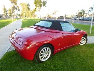 2003 Alfa Romeo Spider (No Series) Twin Spark Red Manual Convertible