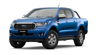 2021 Ford Ranger PX MkIII XLT Double Cab Blue Lightning 6 Speed Automatic Pick Up